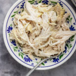 pressure cooker shredded chicken.