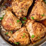 stove top chicken thighs.