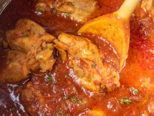 instant pot chicken cacciatore recipe.