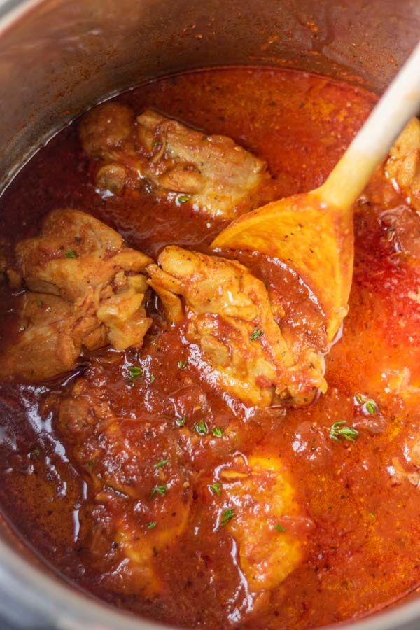 instant pot chicken cacciatore recipe.
