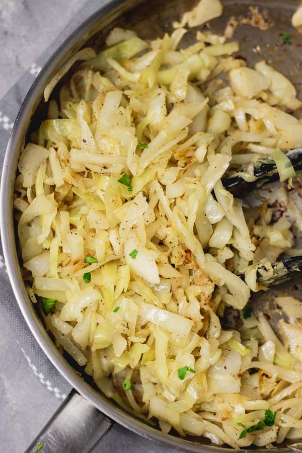 sauteed cabbage.