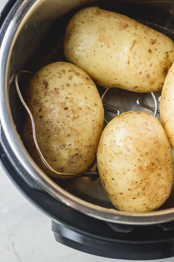large potatoes in instant pot.
