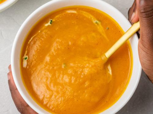 IP butternut squash soup.