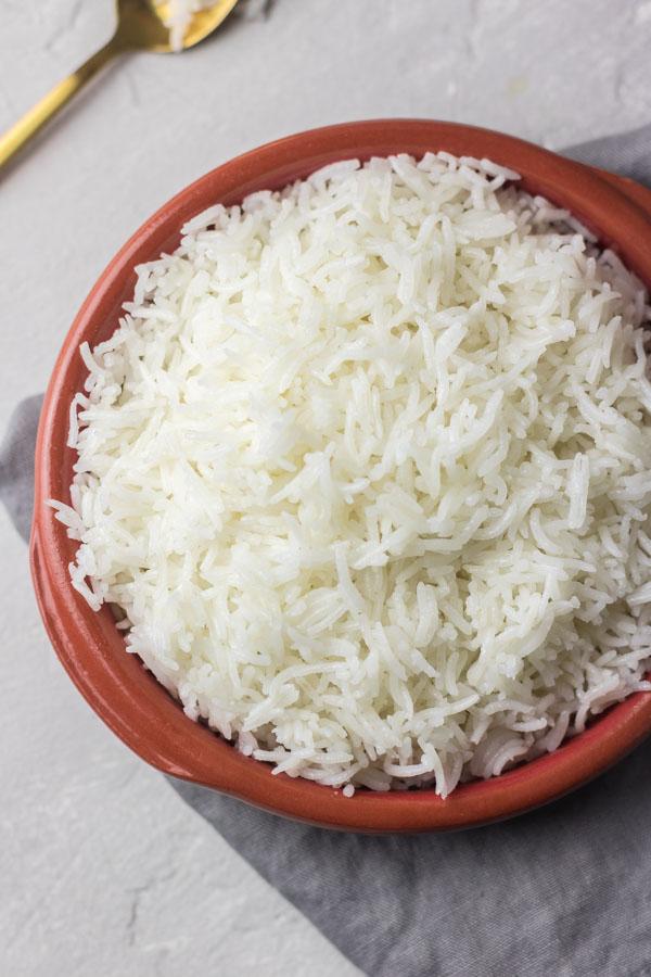 pressure cooker basmati rice.