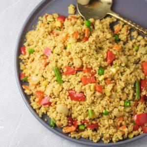instant pot spicy vegetable couscous