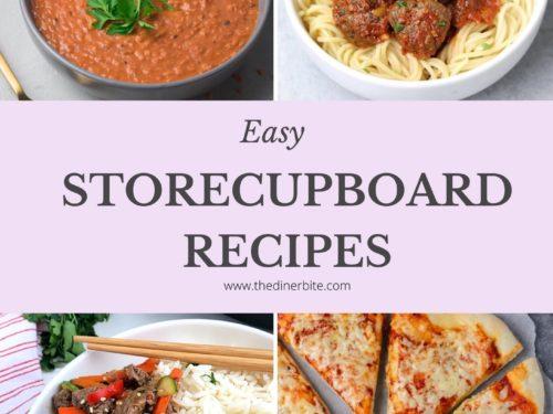easy storecupboard recipes