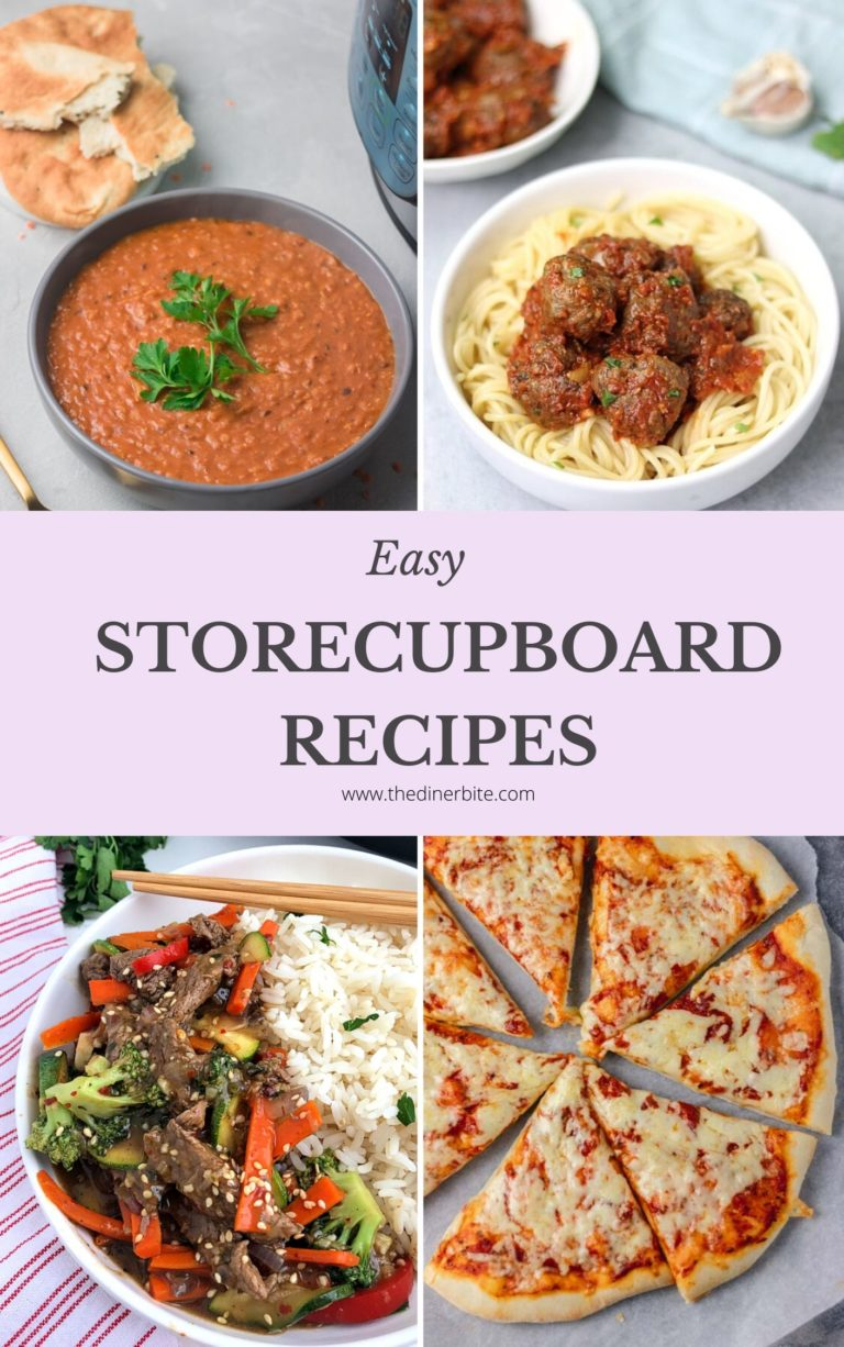easy storecupboard recipes