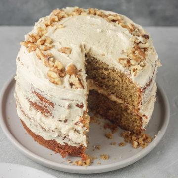 layered coffee cake.