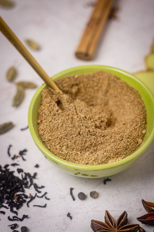 Spice blend in a bowl.