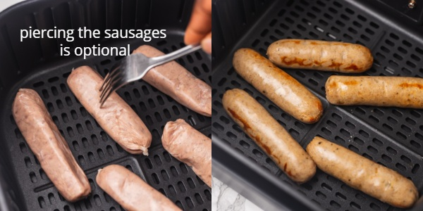 text over image quotes piercing the sausages is optional.